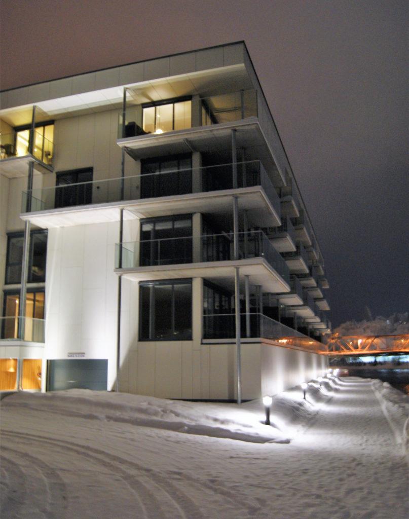 Skibladnersvingen, Eidsvoll